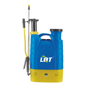 LQT:DHE-16L-03B Plastic Knapsack Removable Battery And Hand Operated Sprayer